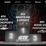 Endurance eRacing World Championship - Le Mans 2020 - GT3 Podium