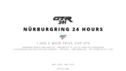 1000 € For Nürburgring 24H Winners - First Prize Announcement