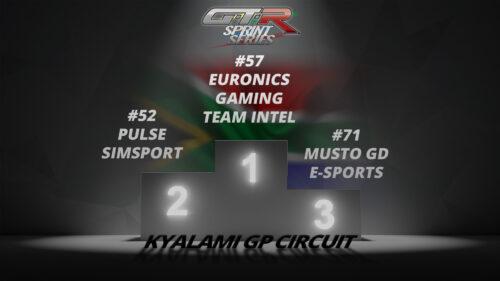 GTR24H Sprint Series - Race 8 - Kyalami