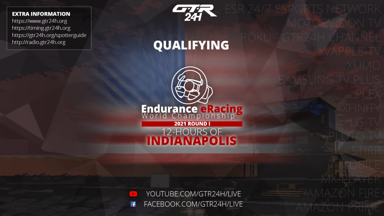EEWC 2021 Round 1 - 12-Hours of Indianapolis - Official Qualifying Result