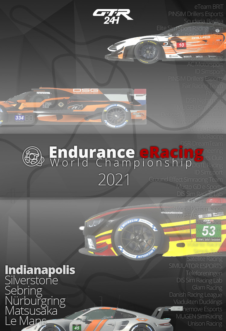EEWC 2021 12 Hours of Indianapolis Spotter Guide