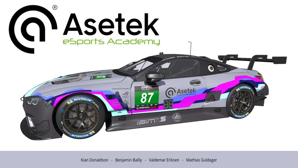 Strong Lineup With Talented Real Racers For Asetek Esport Academy